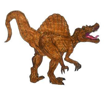 spinosaurus dinosaur shirt by Alexander589