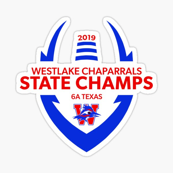 Westlake High School State Champions 2019 Sticker