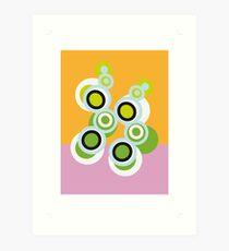 Blogs on my rug Art Print