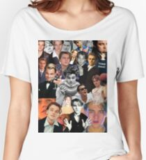 Leonardo Dicaprio Collage Women's Relaxed Fit T-Shirt