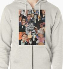 Leonardo Dicaprio Collage Zipped Hoodie