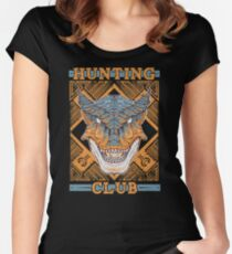 Hunting Club: Tigrex Women's Fitted Scoop T-Shirt