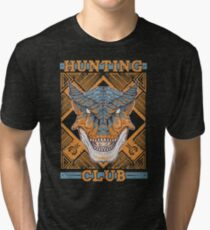 Hunting Club: Tigrex Tri-blend T-Shirt