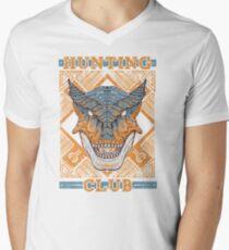 Hunting Club: Tigrex Mens V-Neck T-Shirt