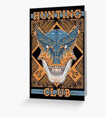 Hunting Club: Tigrex Greeting Card