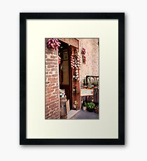 cityscapes #191, panini et ciaccini Framed Print