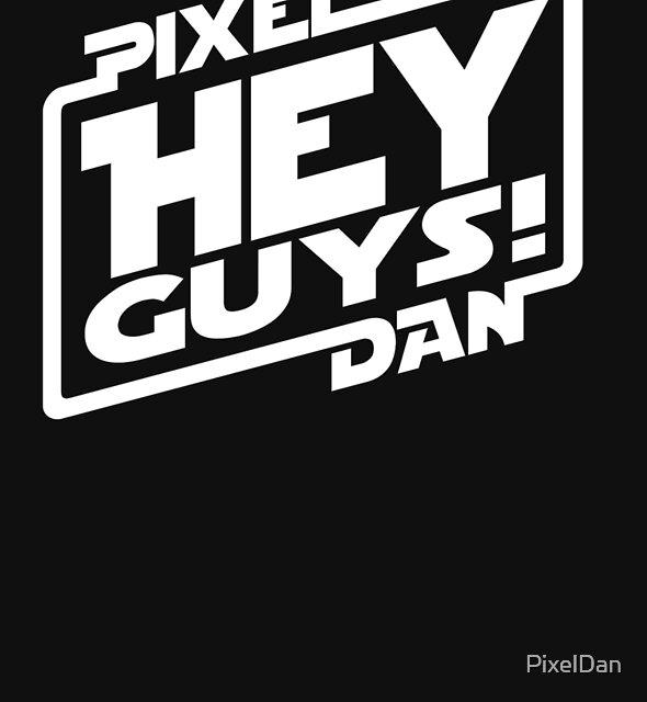 """Hey Guys!"" Logo by PixelDan"