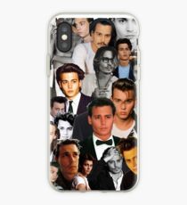 Johnny Depp-Collage iPhone-Hülle & Cover