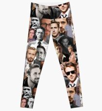Ryan Gosling Collage Leggings