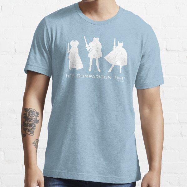 """It's Comparison Time"" - Powerful Princess Essential T-Shirt"