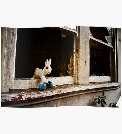 Escapee bunny Poster