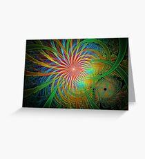 Rainbow Labyrinth Greeting Card