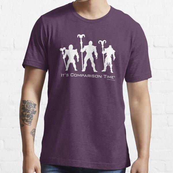 """""""It's Comparison Time"""" - Skullface Essential T-Shirt"""
