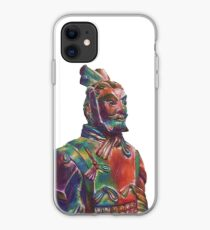 Polychrome Terracotta Warrior iPhone Case