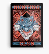 Hunting Club: Lagiacrus Metal Print