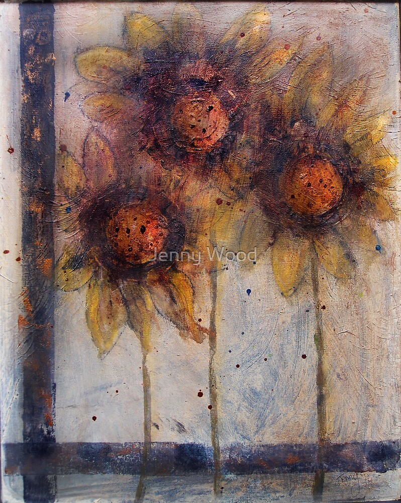 Flowers are people too by Jenny Wood