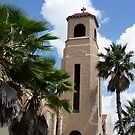 Lake Wales Church Tower by Laurie Perry