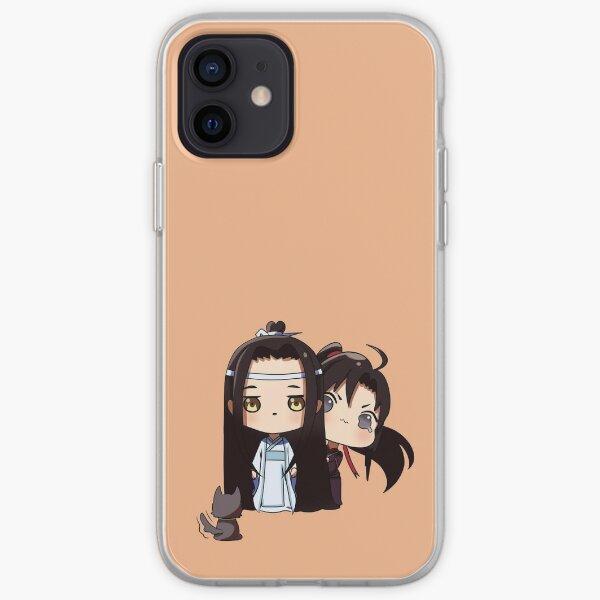 Smol! Lan Zhan and Wei Ying 4 iPhone Soft Case