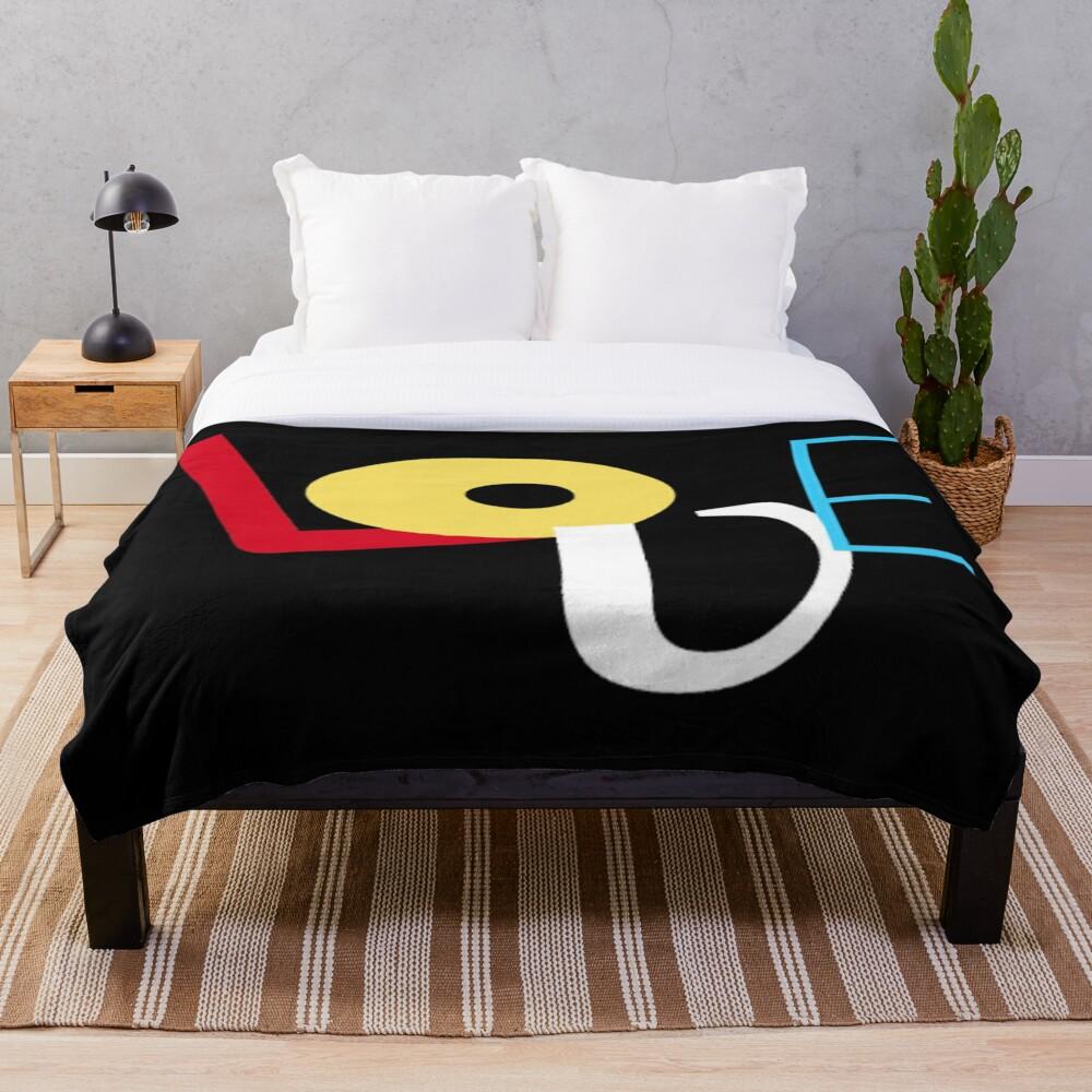 L O V E Throw Blanket