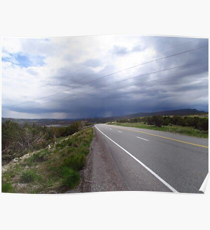 Storm Approaching, Northern Utah Poster