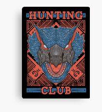 Hunting Club: Nargacuga Canvas Print