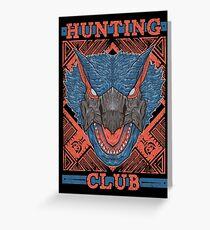 Hunting Club: Nargacuga Greeting Card