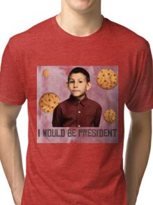 DEWEY PRESIDENT MALCOLM IN THE MIDDLE Tri-blend T-Shirt