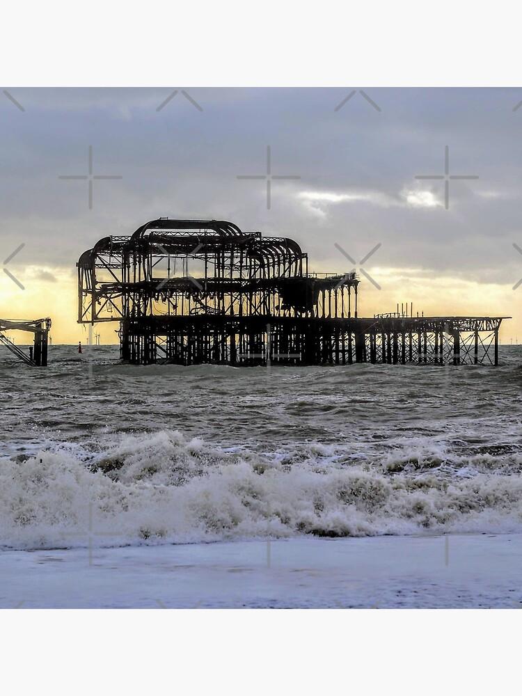 Brighton West Pier by Seashorepics