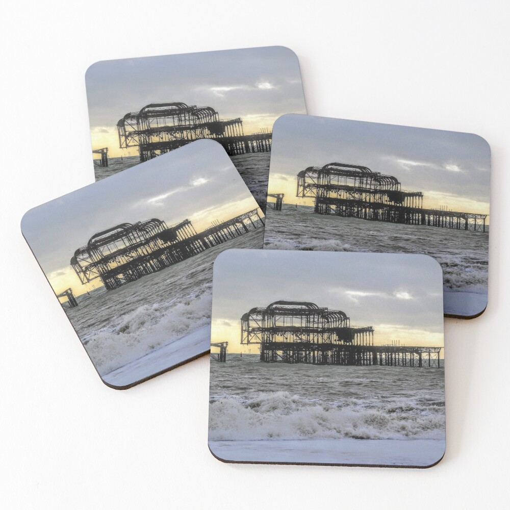 Brighton West Pier Coasters (Set of 4)