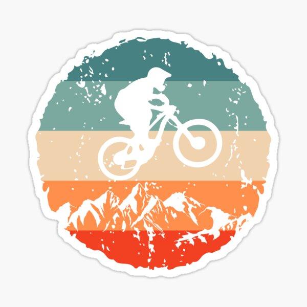 Vintage Mountain Bike MTB Downhill Biking Gift Sticker