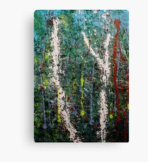 the welcome home - Blue quandongs in forest 2. Main Arm valley NSW, Astralia Canvas Print