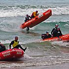 Close racing at Anglesea by Andy Berry