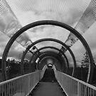 Over the bridge by Catherine Davis