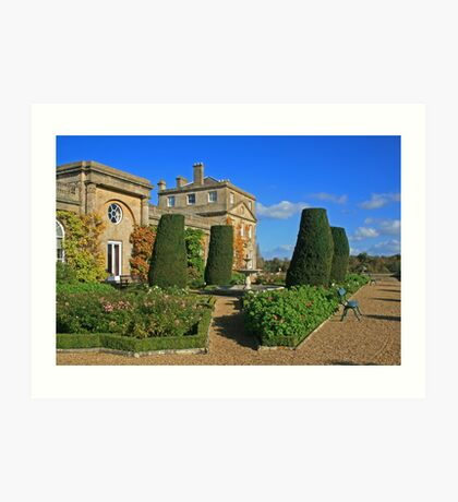 Bowood House Art Print
