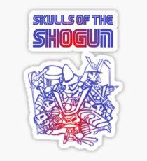 80's Arcade Skulls of the Shogun Sticker