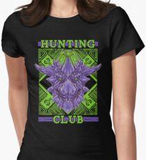 Hunting Club: Brachydios Women's Fitted T-Shirt