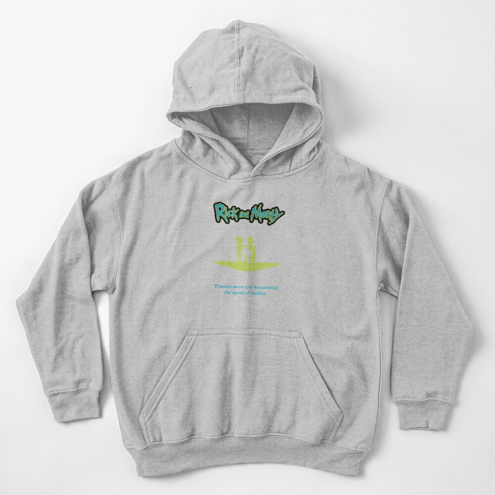 Rick and Morty Quote Kids Pullover Hoodie