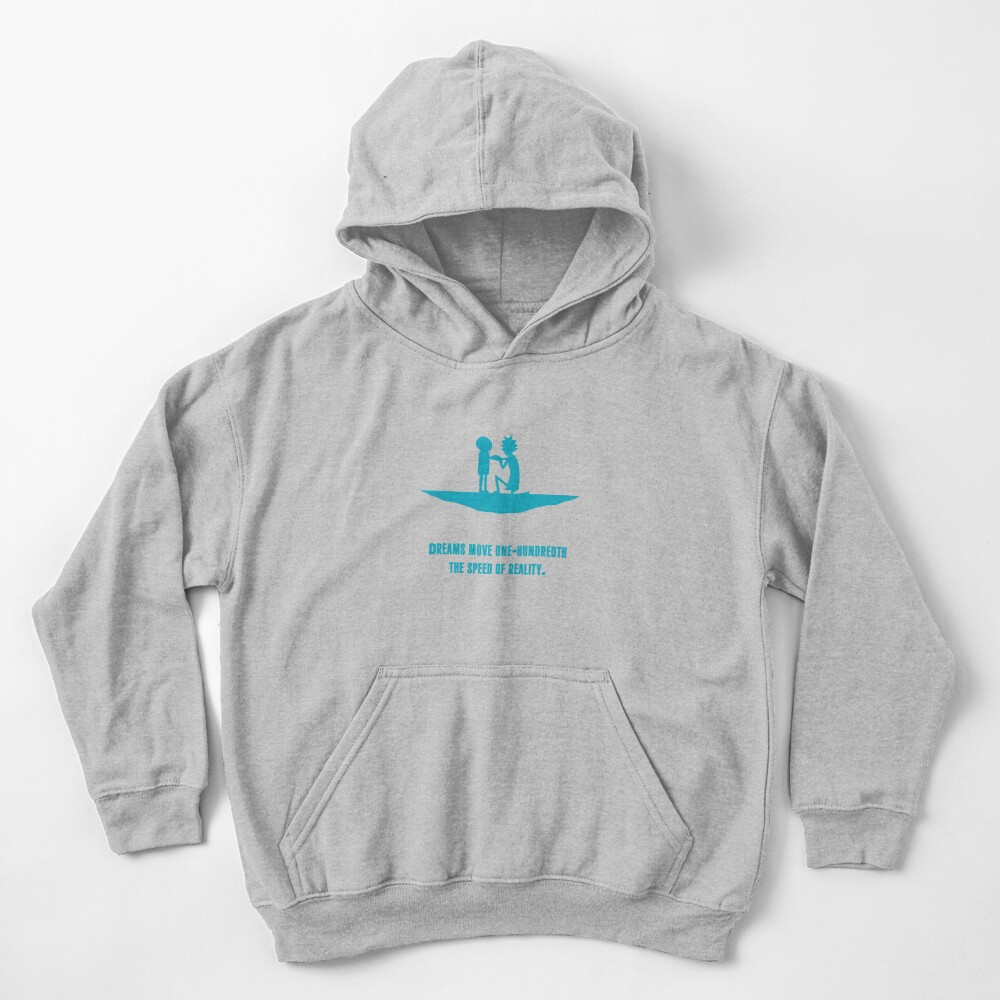 Rick and Morty Kids Pullover Hoodie
