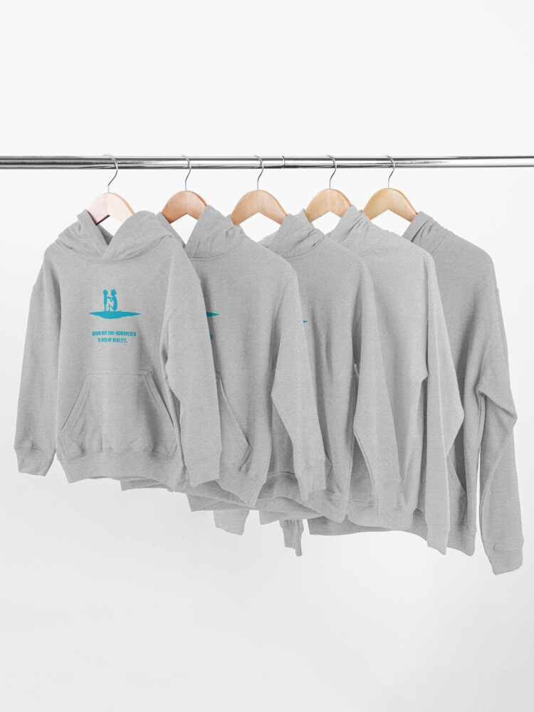 Alternate view of Rick and Morty Kids Pullover Hoodie