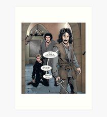 Inigo Montoya, The Princess Bride Art Print