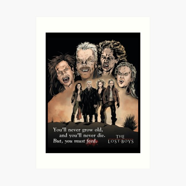 The Lost Boys Art Print