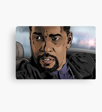 Denzel, Training Day Canvas Print