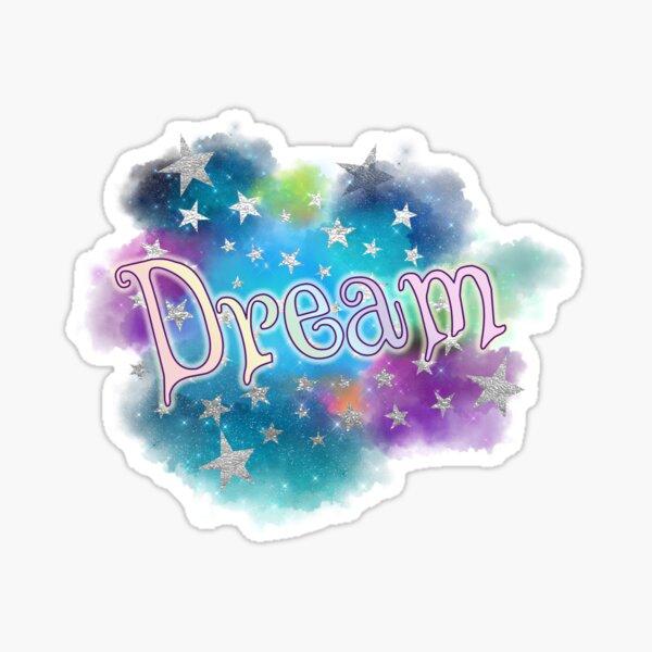 Dream - Clouds and Stars Sticker