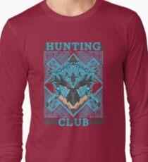 Hunting Club: Azure Rathalos Long Sleeve T-Shirt