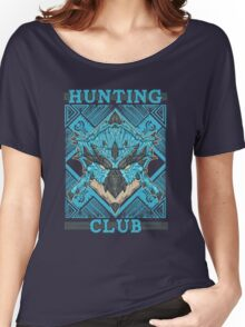Hunting Club: Azure Rathalos Women's Relaxed Fit T-Shirt