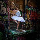 Melbourne laneways by Chris Dowd