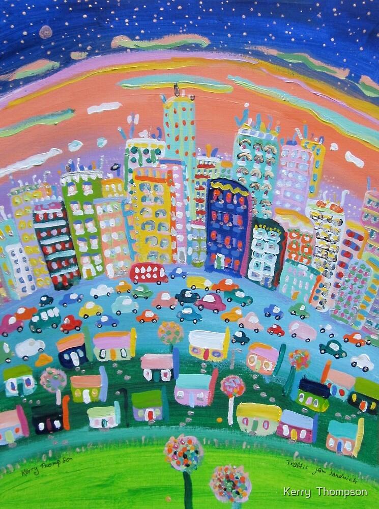 Traffic jam sandwich by Kerry  Thompson