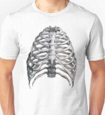 Skelett Slim Fit T-Shirt