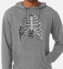 Skelett Leichter Hoodie