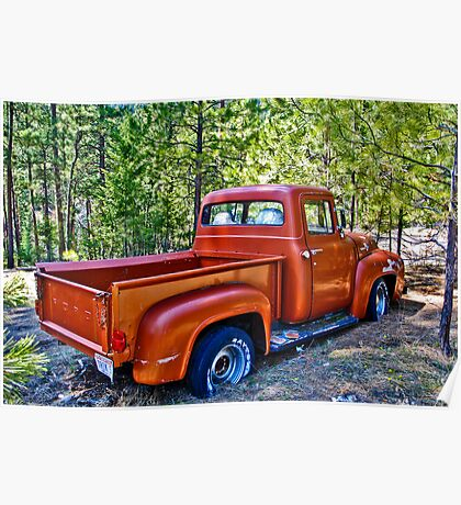 '56 Ford Truck Poster